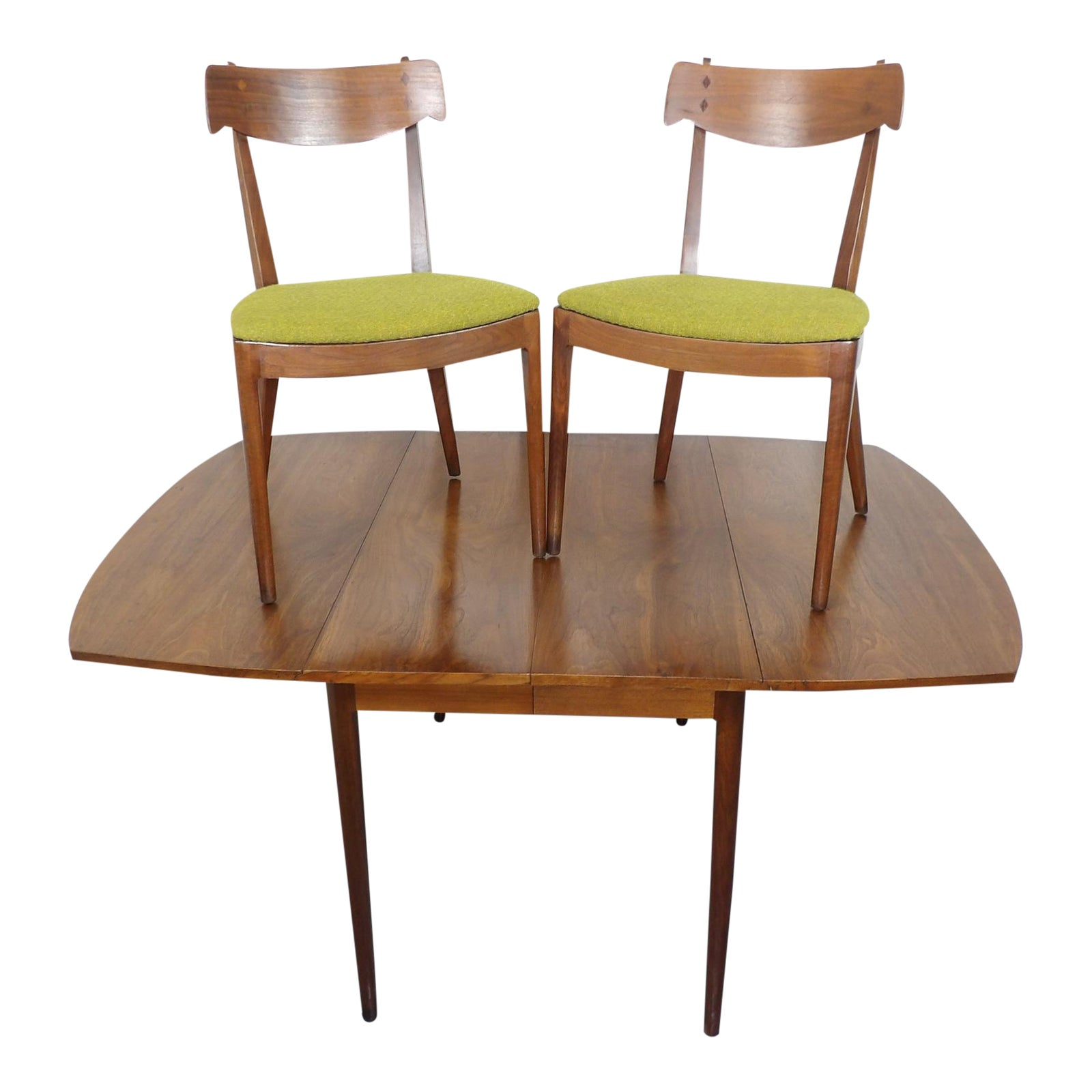 Drexel Declaration Dining Table & Chairs Kipp Stewart Mid Century