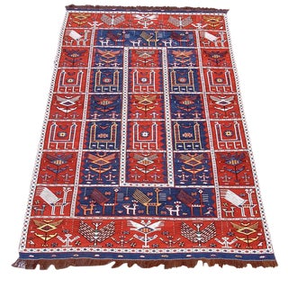 Verneh Flat-Weave Rug For Sale