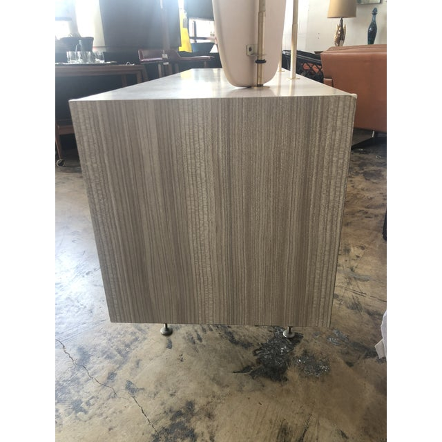 Alabaster Mid Century Berry Furniture Vanity For Sale - Image 8 of 13
