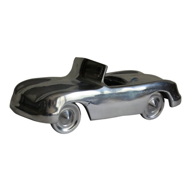 Stylized 1950's Chrome Roadster For Sale