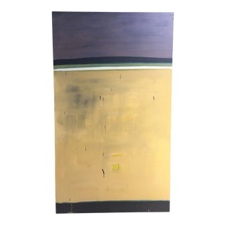 """Abstract Painting Oversized """"Cairo"""" 1 by Paul Rinaldi For Sale"""