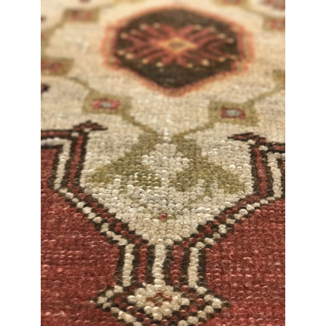 "Bellwether Rugs Vintage Turkish Oushak Runner - 2'4"" X 10'5"" - Image 6 of 10"