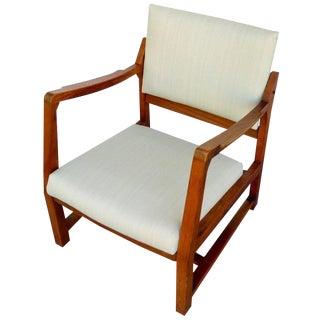 Walnut Tilt Armchair by Edward Wormley for Dunbar For Sale