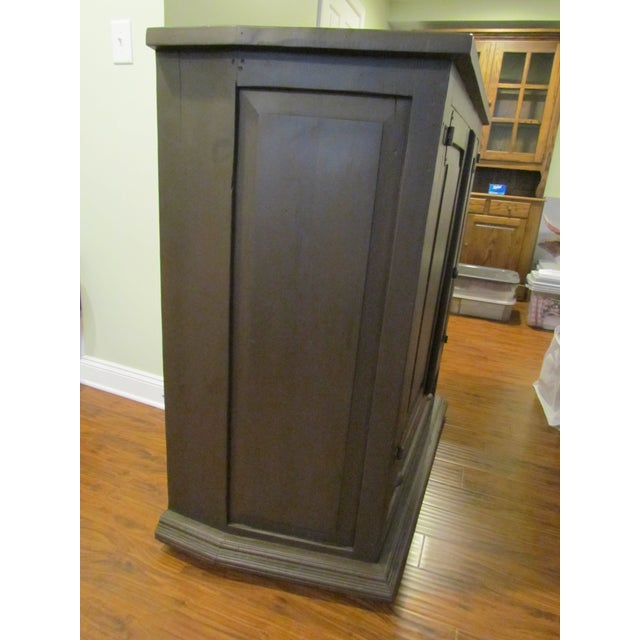 Solid Pine Media Armoire - Image 4 of 4