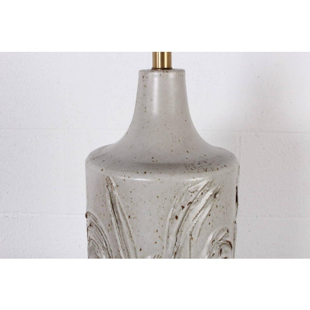 Ceramic Table Lamp by David Cressey For Sale In Dallas - Image 6 of 8