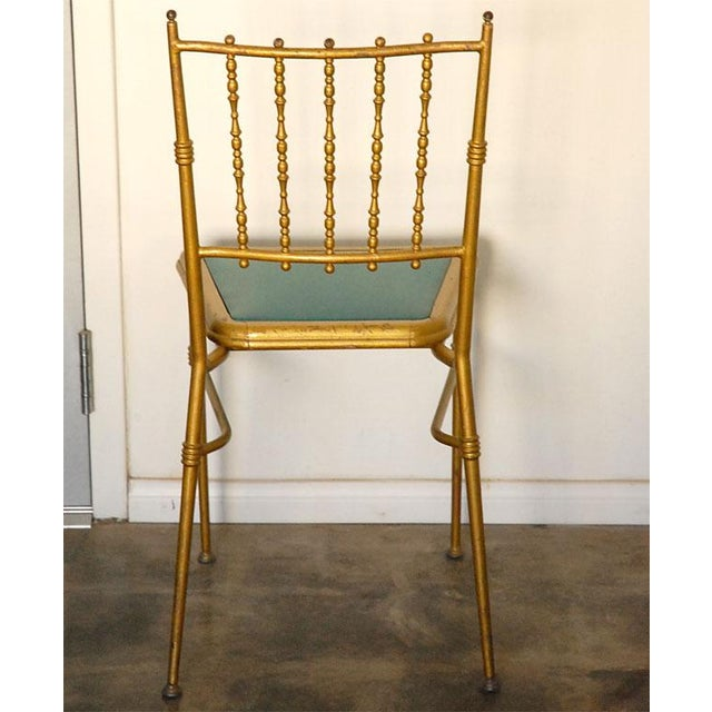 Used in England for parties and at dances. This set of six chairs would be well suited for that perfect setting, around...