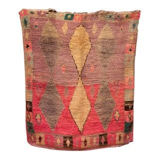 "Boujad Vintage Moroccan Rug, 6'8"" X 7'7:"" Feet For Sale"