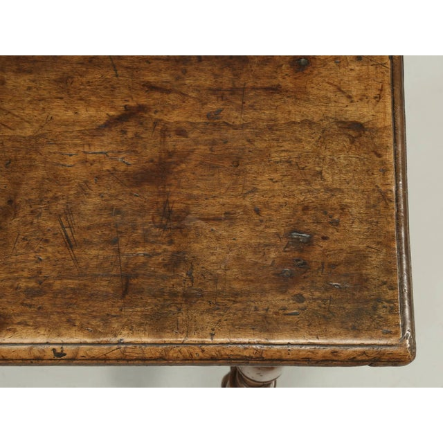 Antique Country French Side or End Table From the Early 1700s For Sale - Image 4 of 10