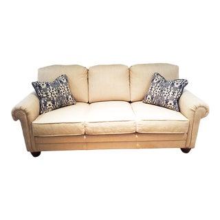 Modern Harden Furniture Ivory Sofa For Sale
