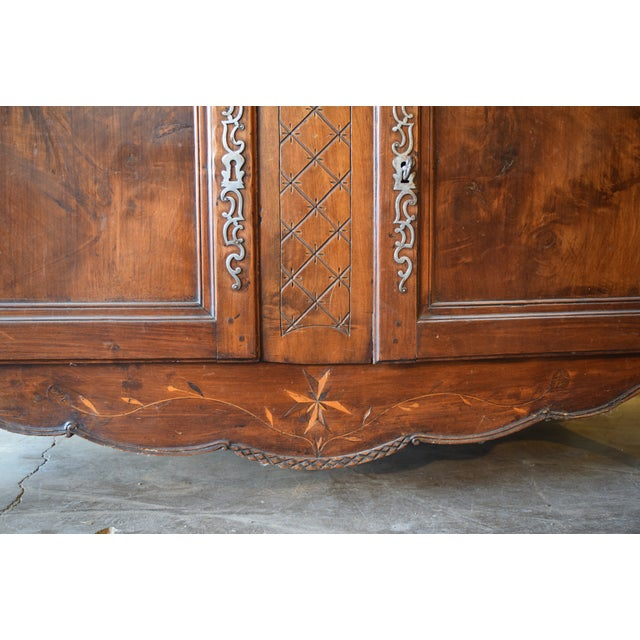 Late 18th Century Antique French Walnut Buffet For Sale - Image 4 of 12