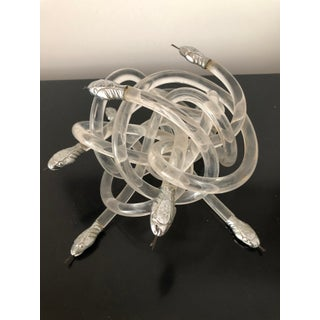 Alessandro Albrizzi Mid-Century Lucite Snake Den Cluster Preview