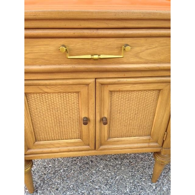 White Furn Hollywood Regency Nightstand - Pair For Sale In Baltimore - Image 6 of 6