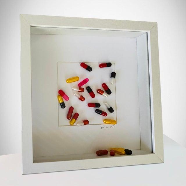"Original 3d Artwork ""Take a Chill Pill"" Framed For Sale - Image 4 of 4"