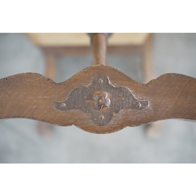 Decorative Leather Bench For Sale - Image 11 of 12