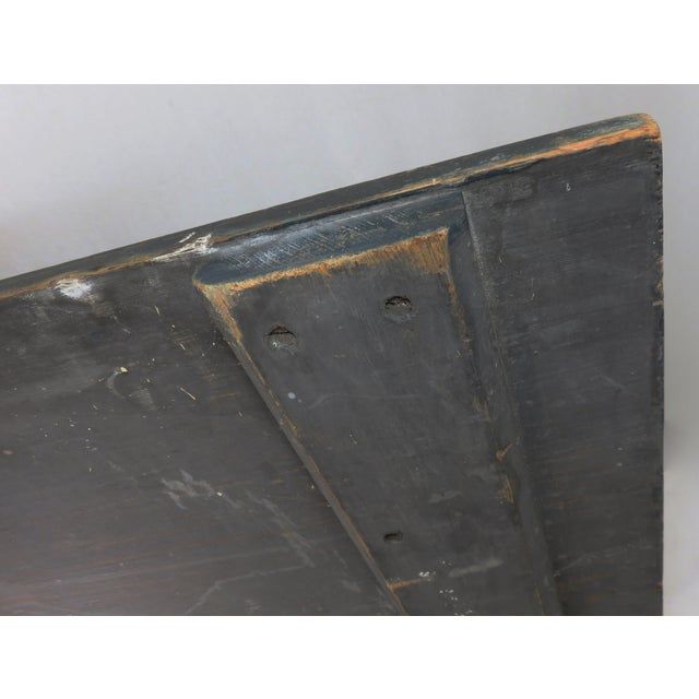 Antique Wood New Bedford Mass. Roofers Sign For Sale - Image 10 of 13