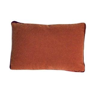 Bark/Rust Mohair Pillow
