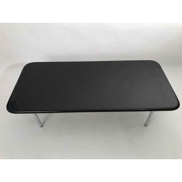 1960s Rare George Nelson Granite Coffee Table For Sale - Image 5 of 10