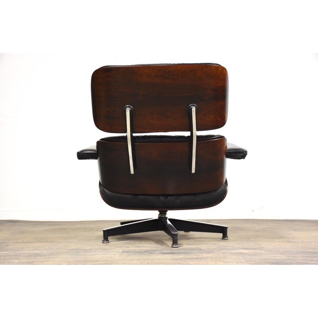 Excellent Original Herman Miller Eames Lounge Chair Ottoman Dailytribune Chair Design For Home Dailytribuneorg