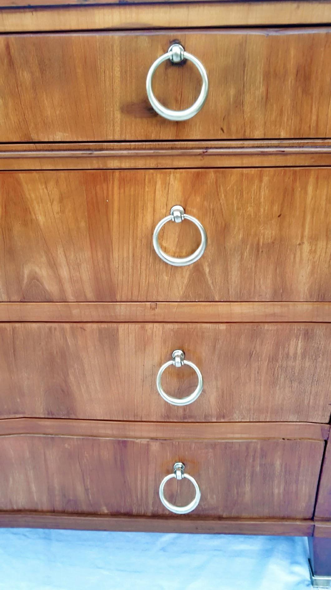 Baker Furniture Neo Classical Four Drawer Dresser With Brass Ring Pulls For  Sale In Phoenix