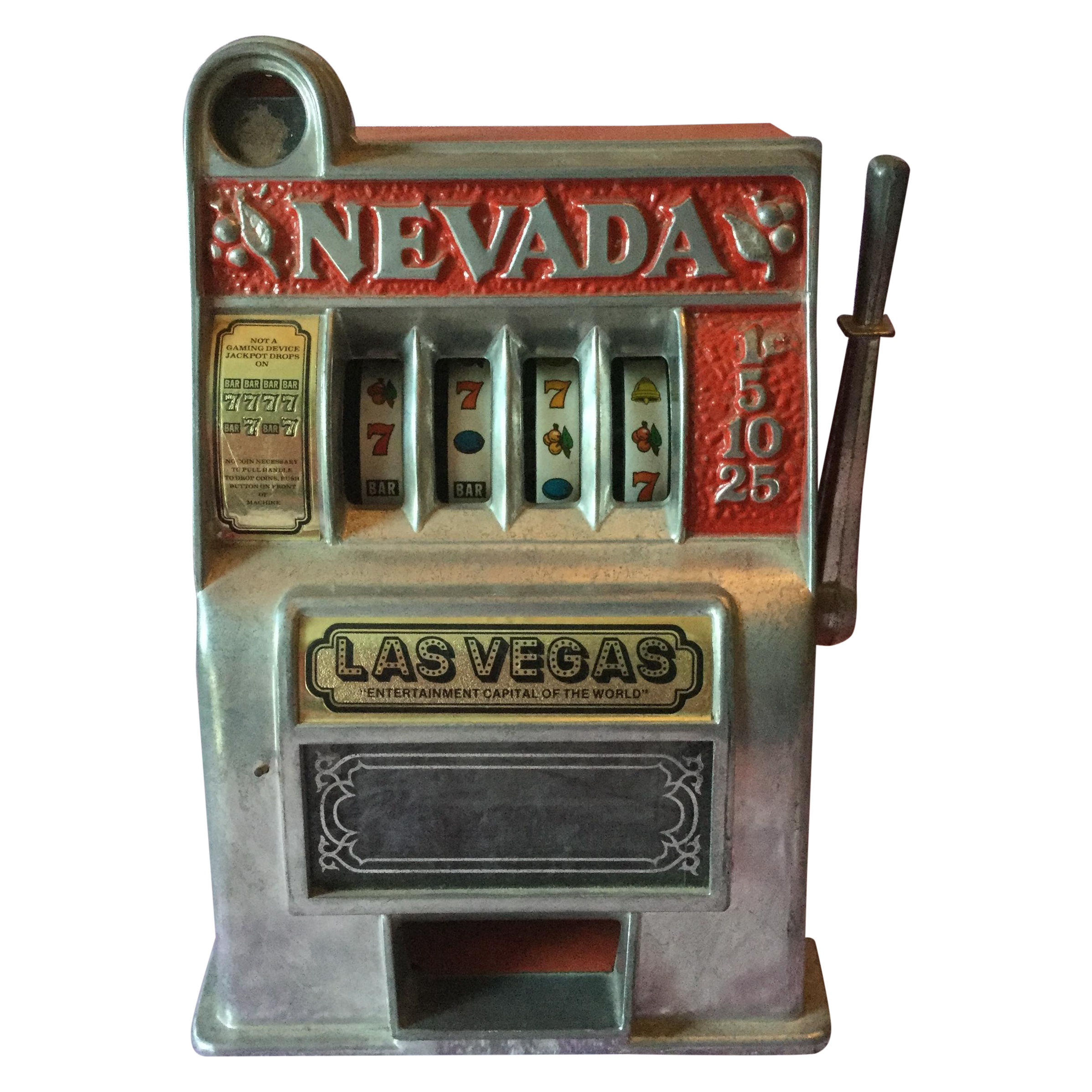 Slot machine restoration las vegas how many spots on roulette wheel