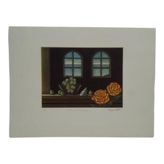 """20th Century Art Print """"Le Muscat Dans Unjour"""" by Tanibata For Sale"""