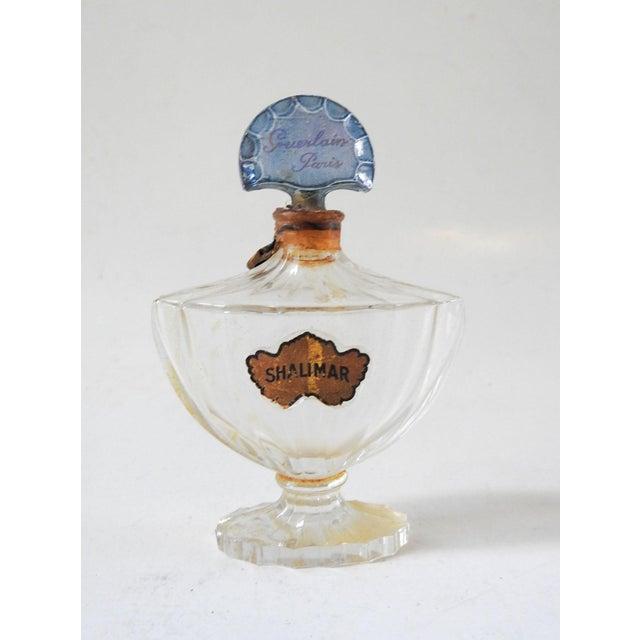 Glass Vintage Guerlain Baccarat Shalimar Perfume Bottle For Sale - Image 7 of 7