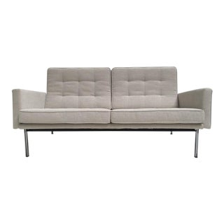 Early Florence Knoll Parallel Bar Sofa by Knoll International, Circa 1955