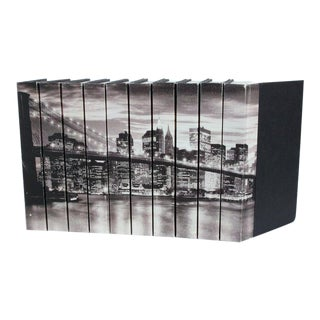 Image Collection 'Brooklyn Bridge' Books - Set of 10 For Sale
