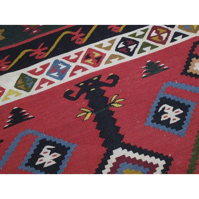 Antique Sharkoy Kilim - Image 7 of 10