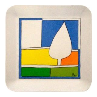 Vintage 1954 Vera Neumann Bold Abstract Tray