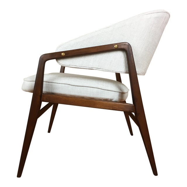 Mid-Century Modern Gio Ponti for Singer & Son Lounge Chair For Sale