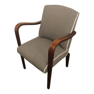 Vintage Mid Century Thonet Co. Restored Lounge Chair For Sale
