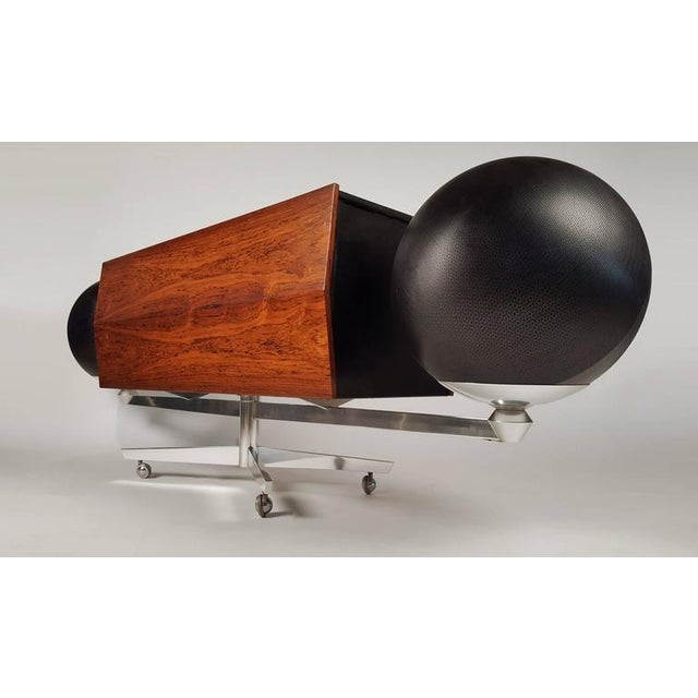 Hugh Spencer First Generation Clairtone Project G T4 Rosewood Stereo System For Sale - Image 4 of 11