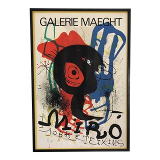 Mid-Century French Joan Miró Lithograph Poster