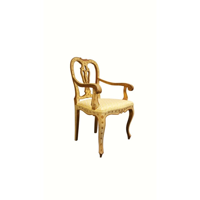 Queen Anne Style Accent Chair - Image 3 of 9