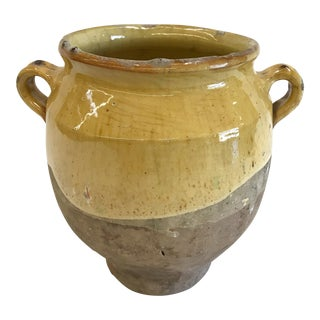Large French Handled Confit Pot