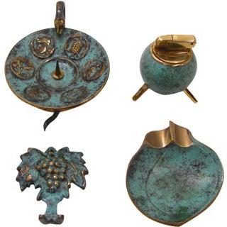 Mid-Century Smoking Collection - Set of 4