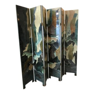 Custom Hand Lacquered Screen Divider