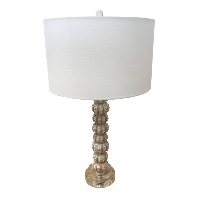 Sea Urchin Darwin Table Lamp by Currey and Company For Sale