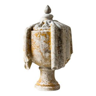 Mid 19th Century Vintage Stone Finial For Sale