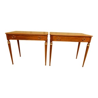 Pair of Art Deco Side Tables For Sale