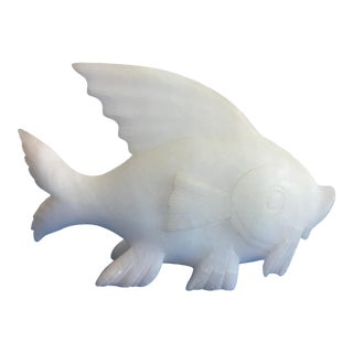 Italian Alabaster Fish For Sale