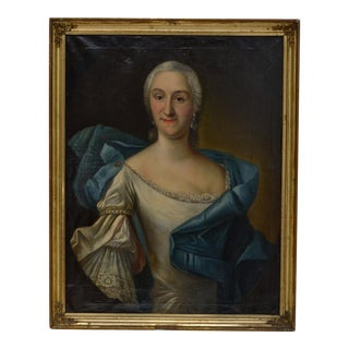Portrait of a Lady by A. Sadeler For Sale