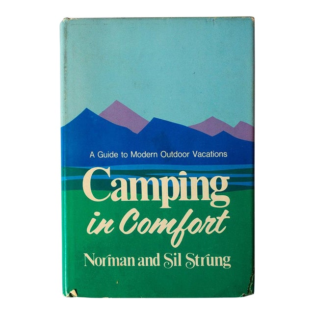 """1971 Vintage """"Camping in Comfort"""" Camping Book For Sale"""