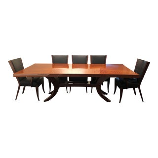 Modern Dakota Jackson Dining Table Set - 11 Pieces For Sale