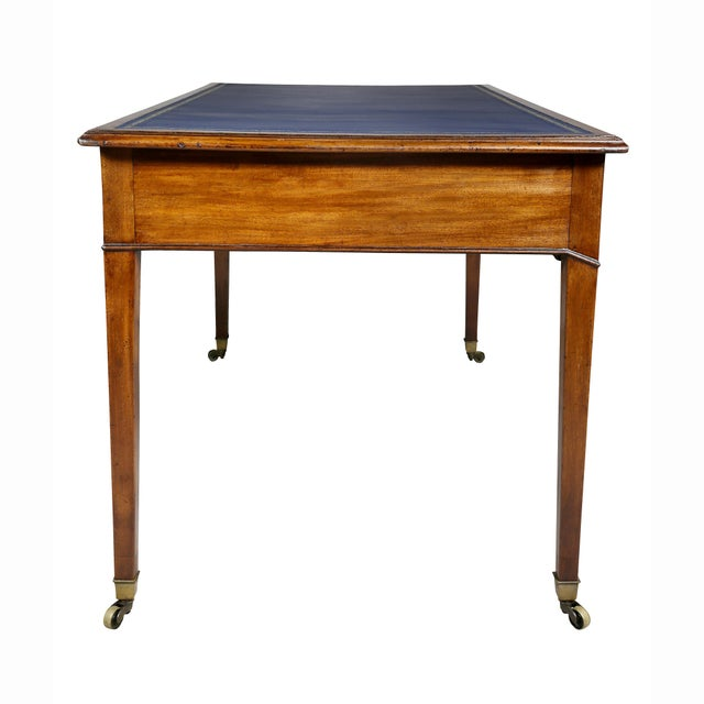George III Mahogany Writing Table For Sale - Image 9 of 12