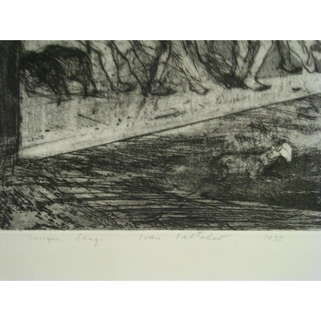 "C Print Mid 20th Century Vintage ""Divertimenti"" Print by Ivan Valtchew For Sale - Image 7 of 8"