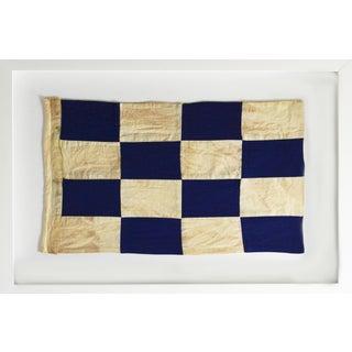 "Framed Signal Flag ""N"" For Sale"