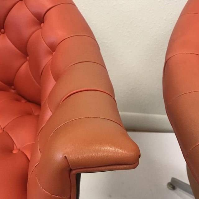 4320 Chairs by M Baughman for Thayer Coggin - a Pair - Image 7 of 11