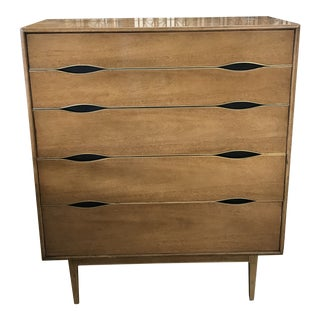 Vintage Mid-Century Modern Thomasville Highboy For Sale
